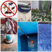 شركة تنظيف شقق فلل كنب سجاد خزانات مكيفات خيم