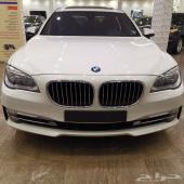 BMW 750 موديل 2014 خليجي