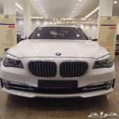 BMW 740  موديل 2014 خليجي