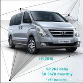 Hyundai H1 2018 for rent