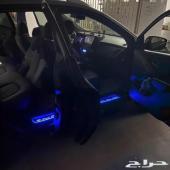 عتبات مضيئة شعار ترحيب لكزس LED