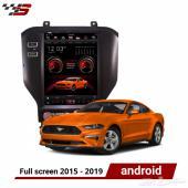 android tesla mustang موستنغ 2015 - 2019
