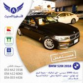 BMW 520i 2018 سعودي مستعمل نظيف