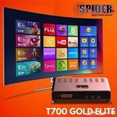 رسيفر العائلة احدث اصدار SPIDER T700 ELITE