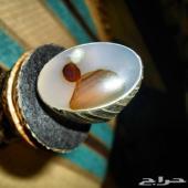خاتم عقيق يماني راهي ومصور طبيعي