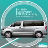 Hyundai H1 2020 for rent