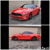 للبيع 19 فورد موستنج GT بلاك ادشن اكتف قزوز
