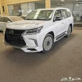 جيب لكزس LX570 لؤلؤي سعودي 2020 (الحسن)