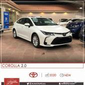 تويوتا كورولا محرك 2.0 وارد خليجي 2020