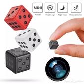 كاميرا مراقبة مخفية صغيرة بحجم النرد full HD 1080p