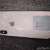 ايفون اكس ماكس 256GB مكسور الظهر