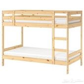سرير ايكيا دورين خشبي