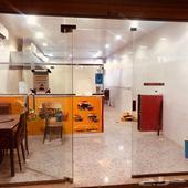 محل حلاق ومحل بوفية بحي الجنادرية شارع الياسمين