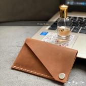 محفظة بطاقات كلاسيك جلد طبيعي