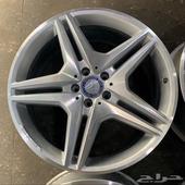 جنوط مرسيدس AMG 2012 مقاس 20 اصلي وكالة
