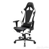 كرسي قيمنيق او كرسي العاب دي اكس ريسر الاصلي ابيض DXracer