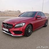 مرسيدس 2016 فل كامل C200 سعودي AMG