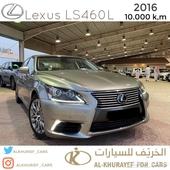 لكزس - LS460L 2016 - عداد 10 الاف فقط