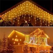 اضاءة ليد LED شبكة  ستارة مضيئة