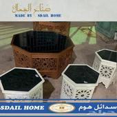 تفصيل طاولات خدمة مغربيه