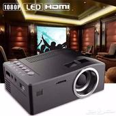 جهاز عرض UC18 ( ميني بروجكتر ) - Mini Led Projector