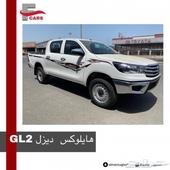 هايلوكس دبل ديزل 2020 سعودي ( GL2 ) لدى المرزوقي