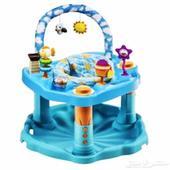 كرسي هزاز مع العاب و تعليم الجلوس للاطفال (( جديد ))