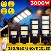اخر قطعة إضاءة شارع بالطاقة الشمسية 3000 واط