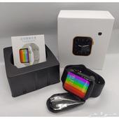 الساعة الذكية شبيهة ساعة آبل الاصدار الجديد 6 مع هدية