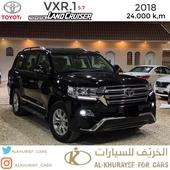 لاند كروزر - VXR 2018 - عداد 24 الف