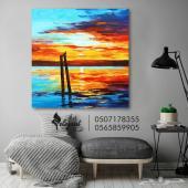 لوحات مودرن بألوان زاهية مفعمة بالحياة