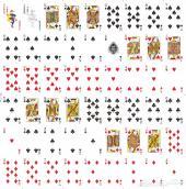 طباعة على ورق اللعب (بطاقات لعب) playing card