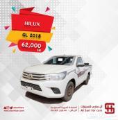 تويوتا هايلكس غماره بنزين GL سعودي2018