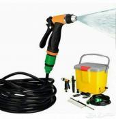 مضخة مويه لغسل سيارتك ضغط شديد وتنظيف قوي