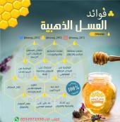 عسل طبيعي ويشهد الله خالي من التغذيه والسكر