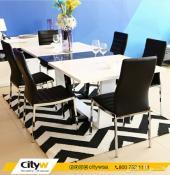 طاولة طعام مع بوفيه من cityw