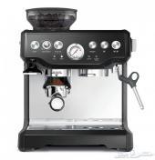 مكينة قهوة جديدة بريفل سيج Sage SES875
