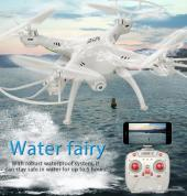 طائرة بكاميرا واي فاي ترسل صور حيه للجوال ضد الماء ثلاث سرعات تشتغل من التطبيق والريموت