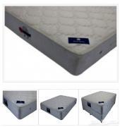 سرير ايكيا مزدوج مع مرتبة طبية ممتازة