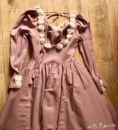 فستان سندريلا للبيع المستعجل
