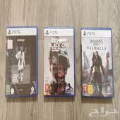 مجموعة ألعاب متميزه للبلاي ستيشن PS 5 للبيع .