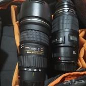 عدسات كانون للبيع Tokina  amp  macro lens 100mm