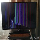 شاشة سامسونج مكسورة للبيع
