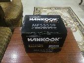 بطارية سيارة HANKOOK جديده
