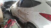للبيع توسان2012 بانورامامصدوم بحالته الراهنة