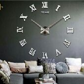 ساعات ثري دي كبيره للحايط