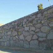 بناء الحجر الطبيعي جدارات وعقوم