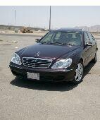 مرسيدسs500  للبدل بجيب او سيارة مناسبة