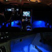 اضاءة داخلية للسيارة اللون ازرق