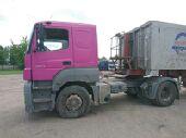 شاحنة اكسور مرسيدس موديل 2006 حجم 1843